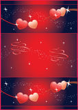 Hearts Abstract Background Stock Photos