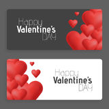 Hearts on abstract love background. Be my valentine. Love romantic messages with hearts. February 14. Valentines day. Card,banner. Global love day, may 1. Three Stock Image