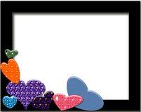 Hearts ans stars royalty free stock photo
