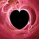 Hearts backgraund. Abstract 3d illustration Stock Photo