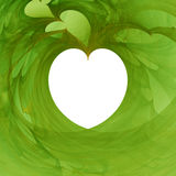 Hearts backgraund. Abstract 3d illustration Royalty Free Stock Photos