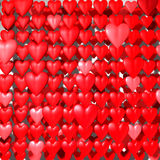 Hearts_Background Royalty Free Stock Image