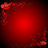 Hearts background Royalty Free Stock Image