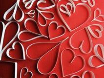 Hearts background Royalty Free Stock Photos