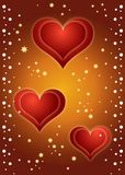 Hearts Background ! Stock Photo