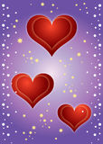 Hearts Background ! Royalty Free Stock Photo