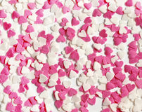 Hearts background Stock Photos