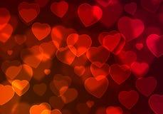 Hearts background Stock Photo