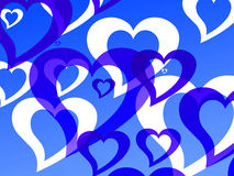 Hearts background. For st valentine related images vector illustration