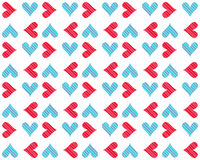 Hearts background 7 Stock Images