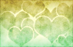 Hearts Background Stock Photo