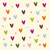 Hearts background royalty free illustration