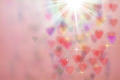Hearts Background stock photos