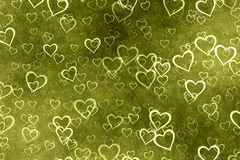 Hearts background Stock Image