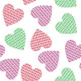 Hearts  background. Royalty Free Stock Photography