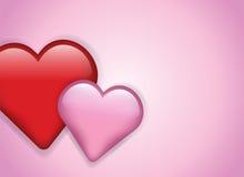 Hearts Background Illustration Royalty Free Stock Image