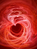 Hearts background. An image of an abstract hearts background Royalty Free Stock Photo