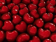 Hearts background. Stock Images