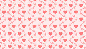 Hearts Background, Love, Abstract Royalty Free Stock Photo