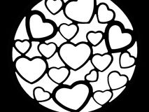 Hearts background love emotions intimacy relationship stock photos