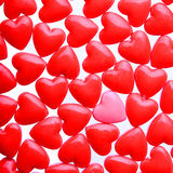 Hearts background Stock Photography