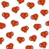 Hearts background set. Vector Stock Photos