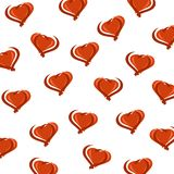 Hearts background set. Vector Royalty Free Stock Images