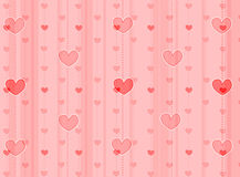 Hearts background / texture Stock Photo
