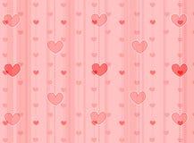 Hearts background / texture Stock Photo