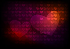 Hearts. Background for a valentines day Stock Photography