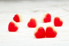 Hearts background. Valentines day stock photos