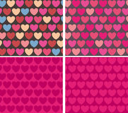Hearts background vector Royalty Free Stock Photo