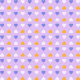 Hearts backgrounds icon great for any use. Vector EPS10. Royalty Free Stock Image