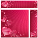 Hearts Banner Stock Images
