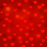 Hearts bokeh background. For Your design Stock Photography