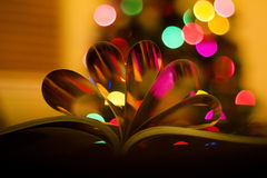 Hearts from book pages Royalty Free Stock Photography