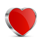 Hearts button Royalty Free Stock Photo