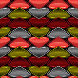 Hearts candy Stock Image