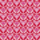 Hearts In Circles_Red-Magenta Stock Photos