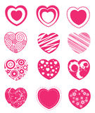 Hearts clip-art Royalty Free Stock Photo