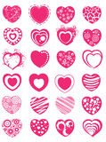 Hearts clip-art Stock Photos