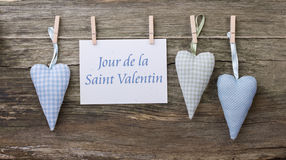 Valentin`s day card Royalty Free Stock Images