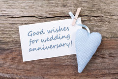 Wedding anniversary Royalty Free Stock Image