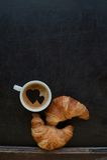 Hearts coffee Royalty Free Stock Photos