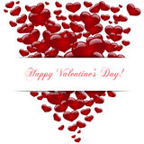 Hearts , concept love, Happy Valentine's day. Vector Royalty Free Stock Image