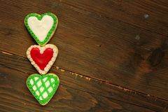 Hearts cookies Royalty Free Stock Photography