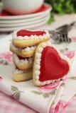 Hearts cookies Stock Photos