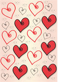 Hearts - Curl Stock Images