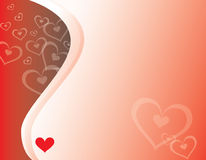 Hearts & Curves Royalty Free Stock Photography