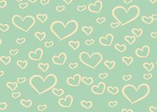 Hearts Design Background. Greeting Card Valentine Day. Vector illustration. Heart pattern. Falling Confetti. EPS 10. vector illustration